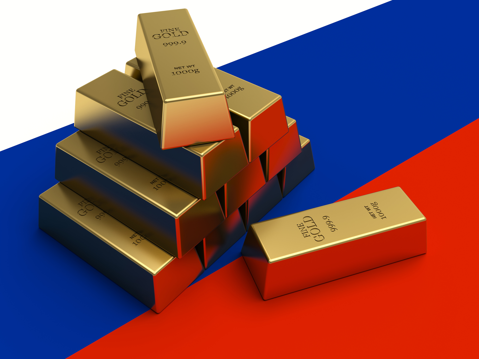 Russian Gold Reserves on Way to 2,000 Tonnes | BullionBuzz