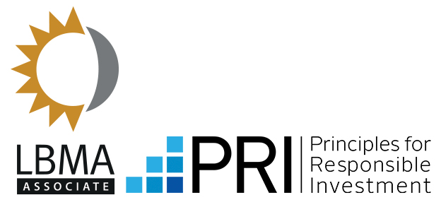 BMG is an associate member of the LBMA and Signatory to the PRI.